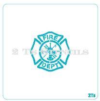 Maltese cross small fire department
