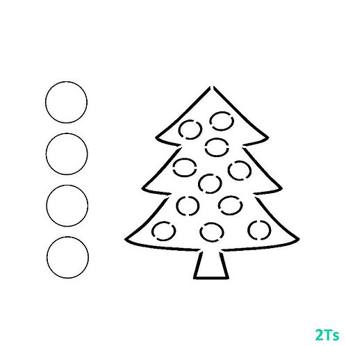 Paint your own TREE stencil