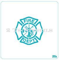 maltese cross large fire department