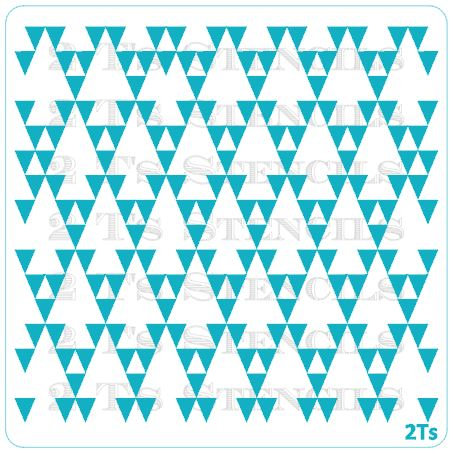 Aztec triangles arrow background