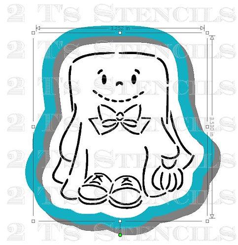 Boy Ghost Cutter/Stencil set