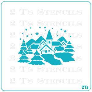christmas silhouette 2