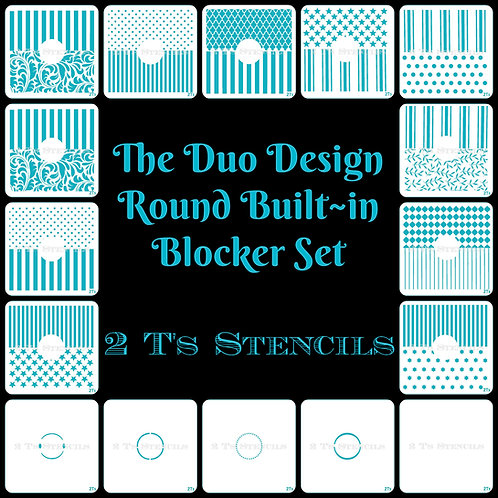 Duo Design Built in Round Blocker Set
