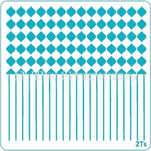 Duo Design 9 microbobbles/pinstripe