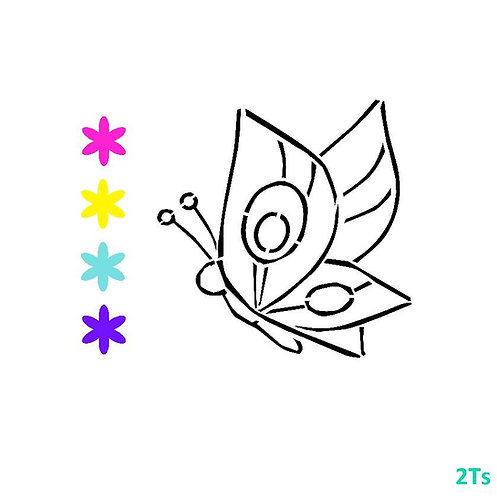 Butterfly Paint Your Own
