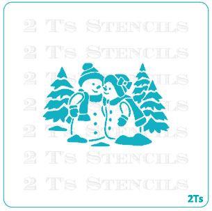 christmas silhouette 1