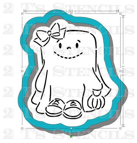 Girl Ghost Cutter ONLY