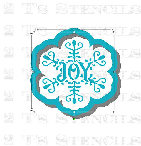 Joy snowflake cutter ONLY