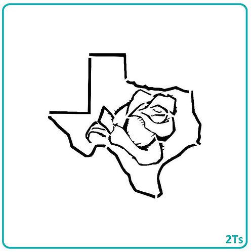 PYO Texas rose