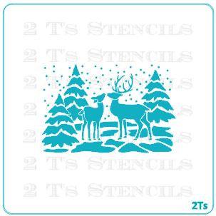 christmas silhouette 3