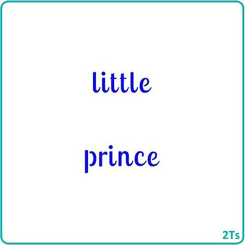 Little Prince/Princess 5 Piece set