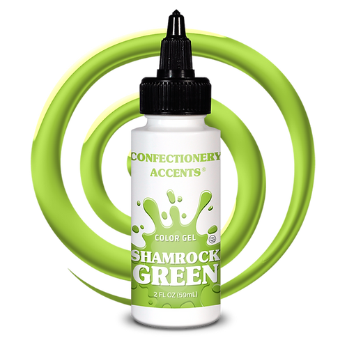 Confectionery Accent GREEN GEL