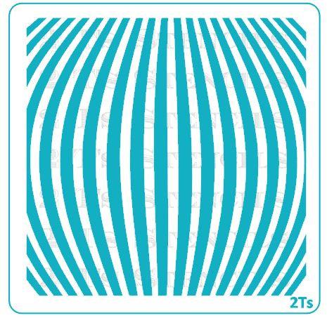 stripe curved large