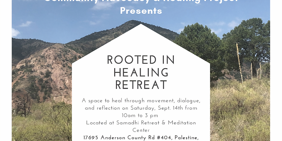 Rooted in Healing Retreat