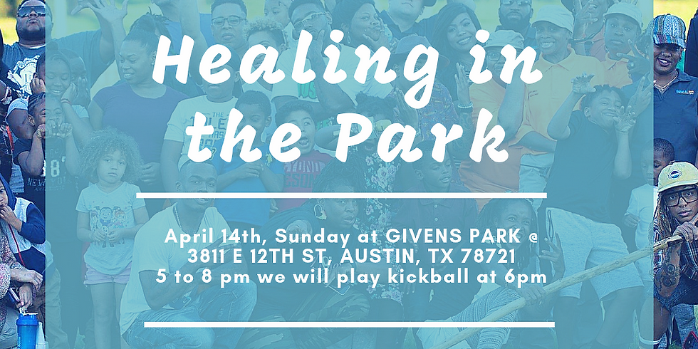 Healing in the Park