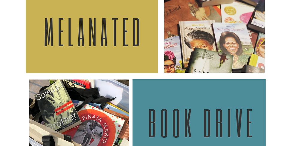 Melanated Book Drive