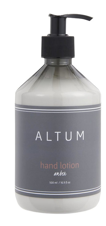 Amber Hand Lotion
