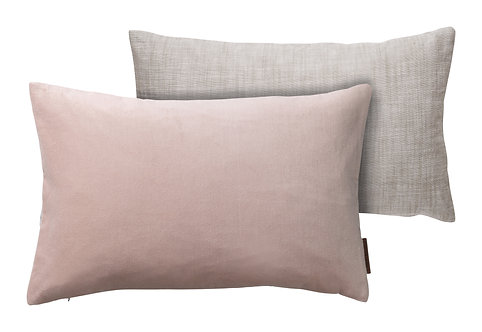 30 x 50 Blush Velvet Cushion