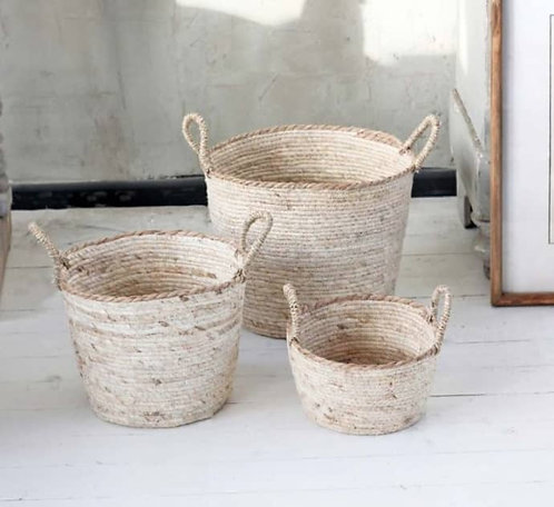 Small Natural Storage Basket