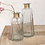 Thumbnail: Chara Hammered Decorative Bottle