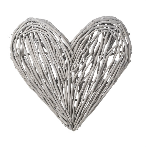 Grey Willow Heart