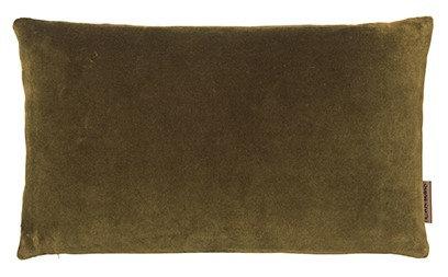 30 x 50 cm Mustard Velvet Cushion