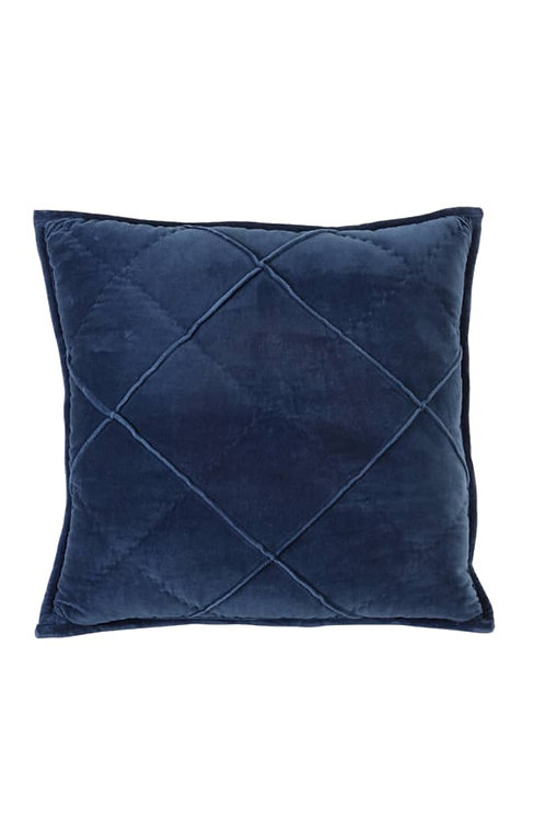 Dark Blue Velvet Cushion