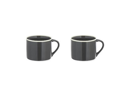 Set of 2 Small Slate Datia Mug