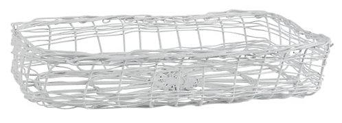 White Oblong Napkin Holder