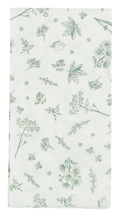 Pack of 16 Printed Paper Napkins