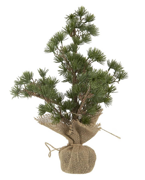 Artificial Cedar Tree with Jute Stand