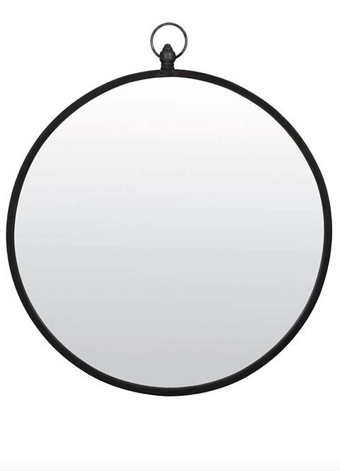 Black Zinc Mirror