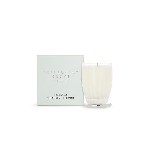 Wild Jasmine & Mint Small Candle