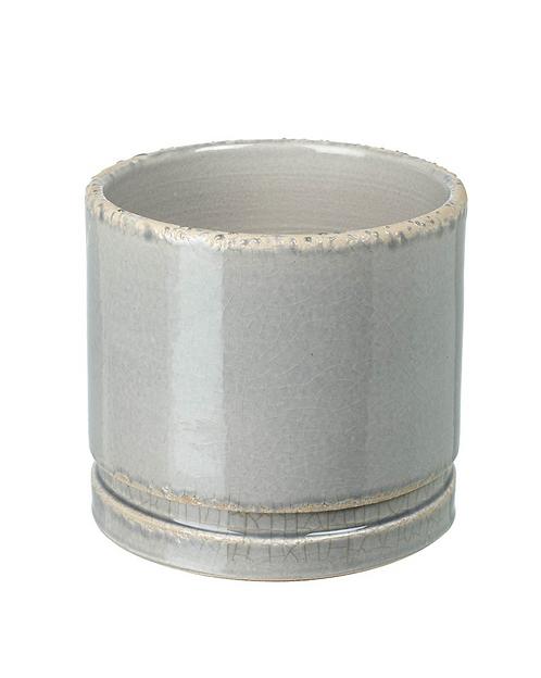Large Grey Ceramic Planter
