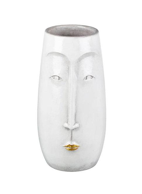 Ceramic Lippy Face Vase