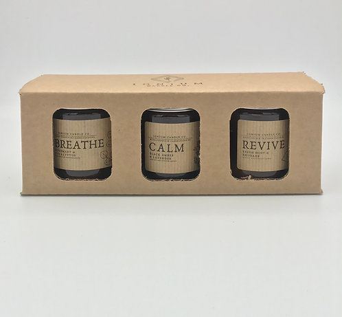 Mindful Candle Trio