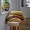 Thumbnail: Round Mustard Cushion