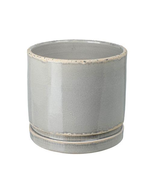 Small Grey Ceramic Planter