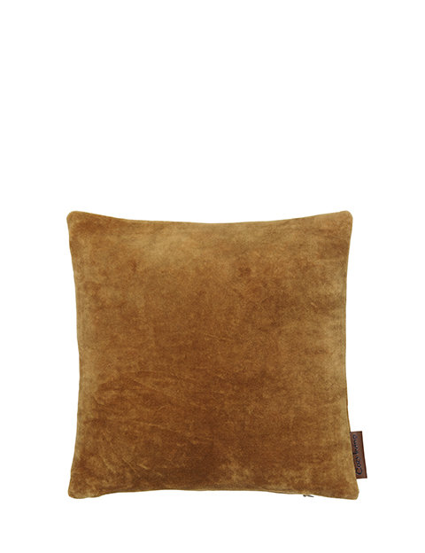 30 x 30 cm Mustard Mini Velvet Cushion