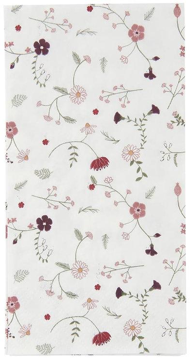Pack of 16 Wild Flower Paper Napkins