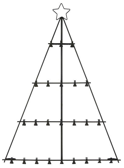 Metal Frame Tree with Clips