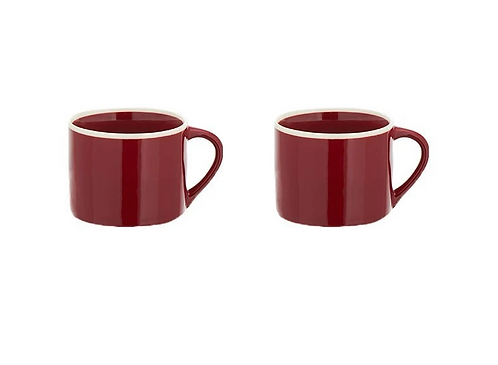Set of 2 Small Berry Datia Mugs