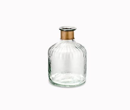 Chara Hammered Decorative bottle