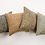 Thumbnail: Mustard Animal Print Cushion