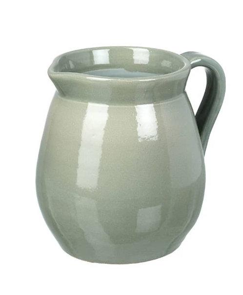 Pale Green Ceramic Jug
