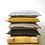 Thumbnail: Blue Grey Velvet Tassel Cushion