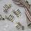 Thumbnail: Set of 4 Star Napkin Rings