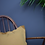 Thumbnail: Mustard Linen Bordered Cushion