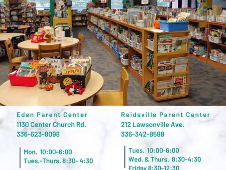 Visit the RCS Parent Resource Centers (PRCs)