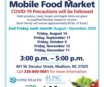 More exciting news...Madison Mobile Food Market